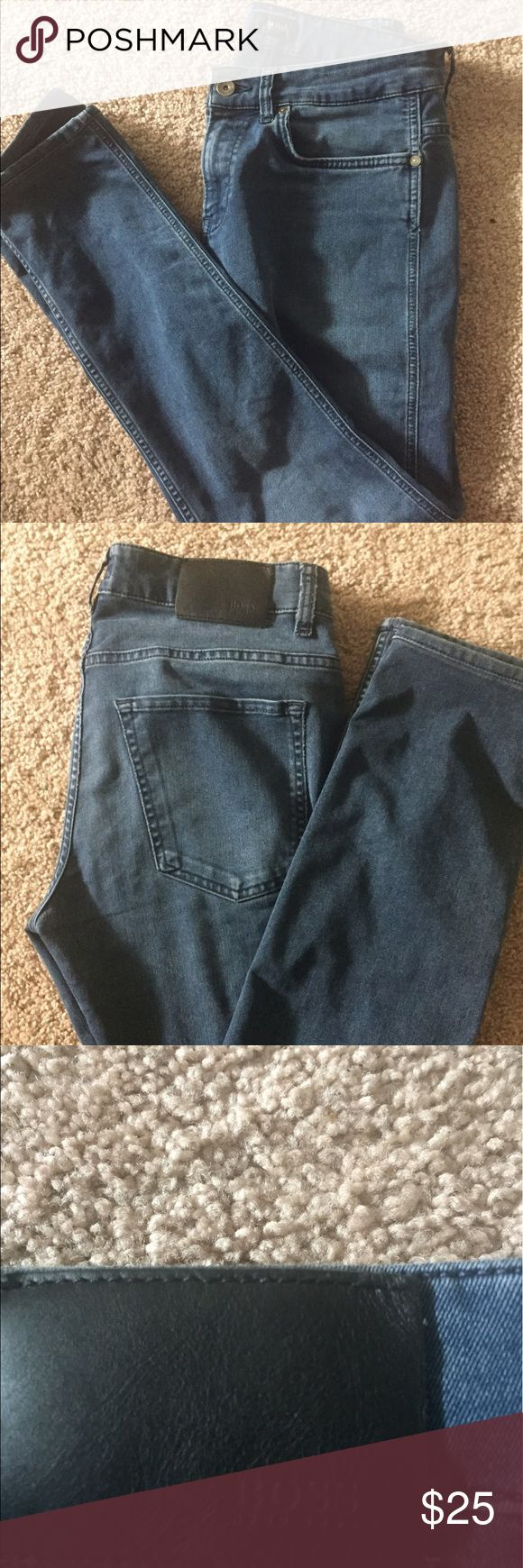 Hugo boss skinny jeans Super cute Hugo boss skinny jeans GENTLY USED GREAT CONDITION Hugo Boss Jeans Skinny