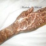 Madeeha's Latest Eid Mehndi Design Images 2013