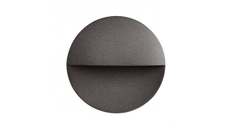 Flos - Giano Lámpara de pared 20,0cm - marrón oscuro/lacado/3000K/650lm/Ø220cm/surface guide light