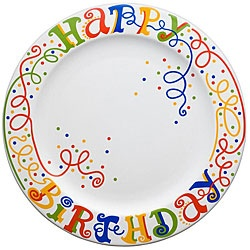 birthday plate - might diy something like this.