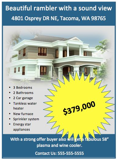 20+ Stylish House for Sale Flyer Templates  Designs Free