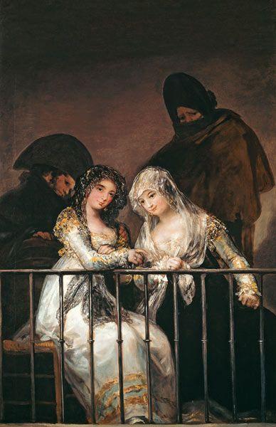 Francisco José de Goya - Majas on a dress circle