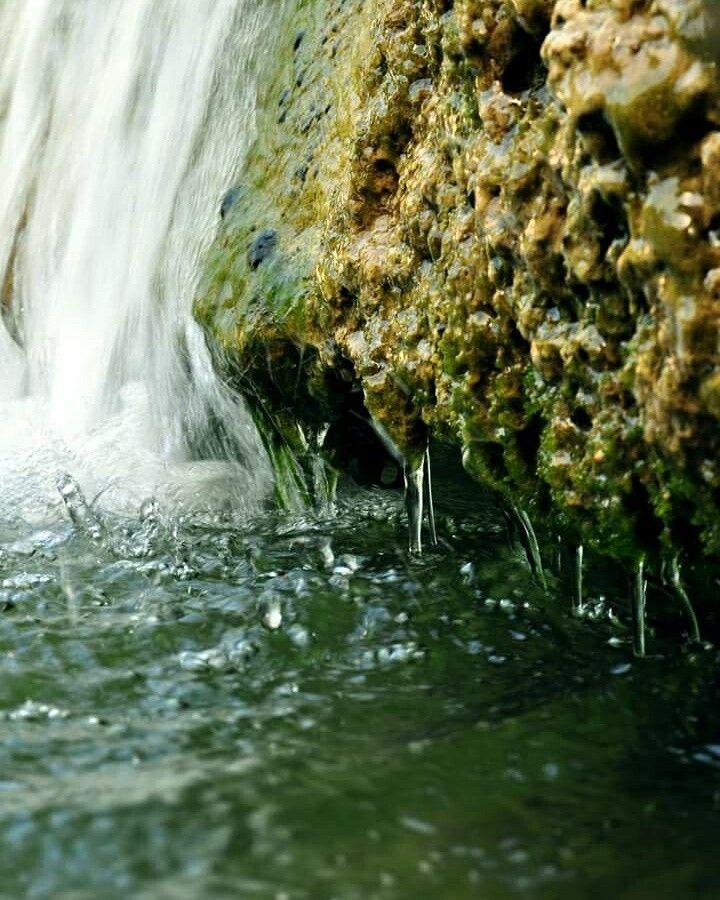 Waterfall, Athens, mount Penteli