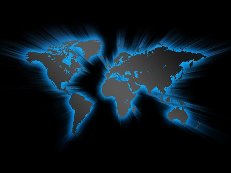 Blue earth world map 800x600 pixel PPT Backgrounds for Powerpoint ...