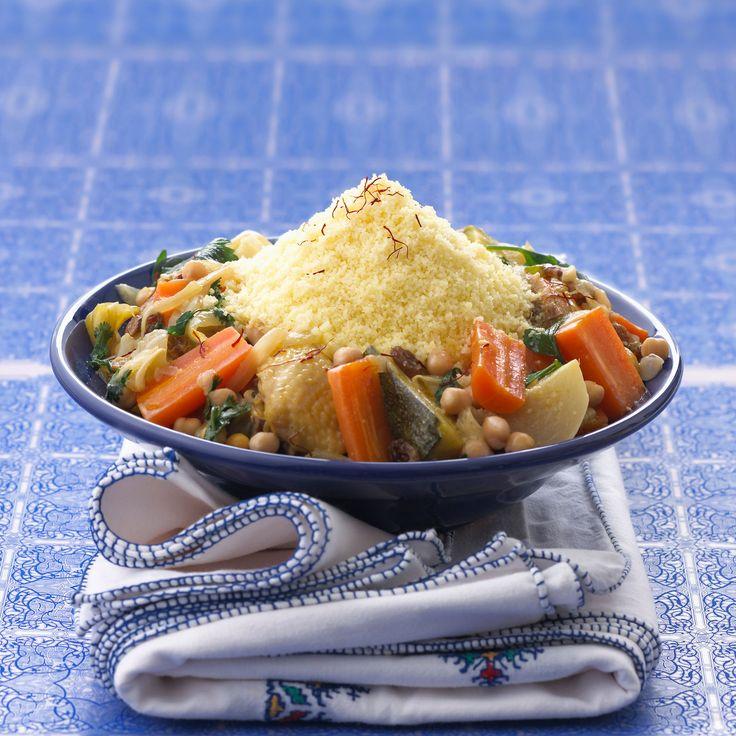 Découvrez la recette du couscous aux légumes et aux épices marocaines