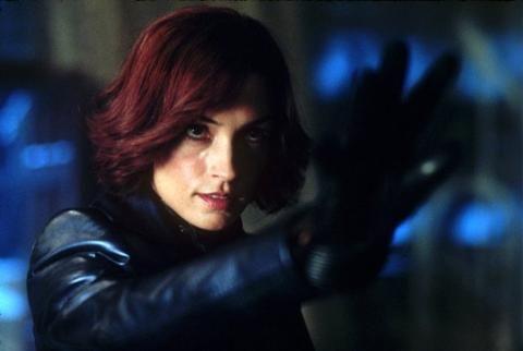 X-Men's Famke Janssen passes the Jean Grey torch to Sophie Turner ...