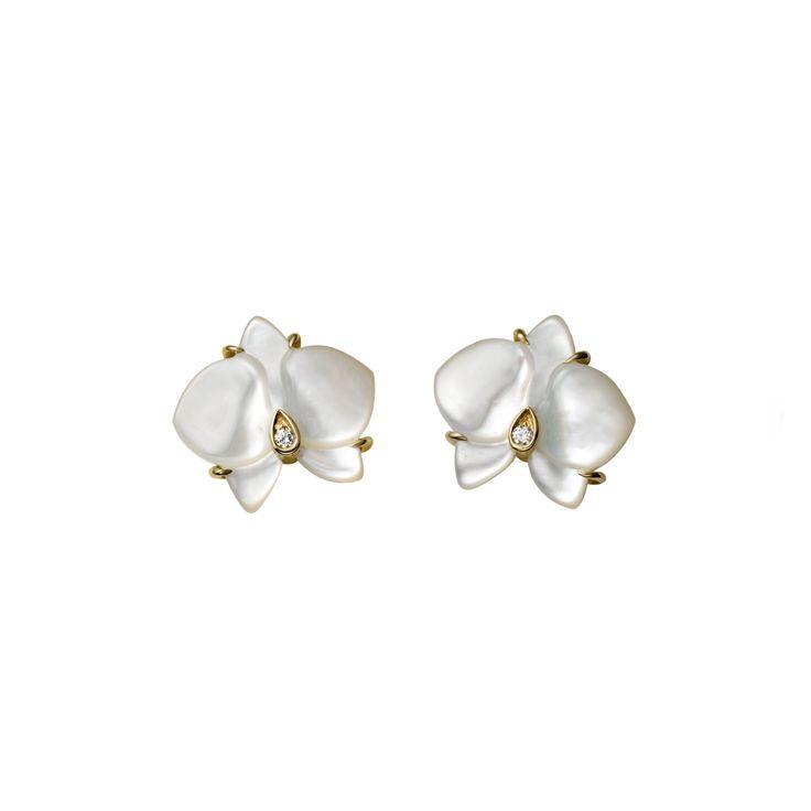 Caresse d'Orchidées par Cartier earrings
