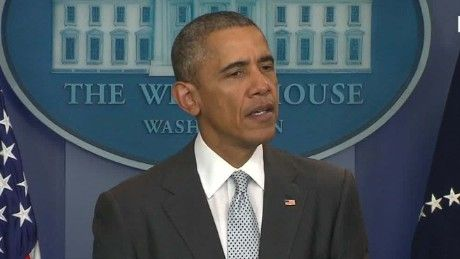 """President Barack Obama on Friday condemned the Paris terror attacks, calling them an """"outrageous attempt to terrorize innocent civilians"""" and pledging the U.S. government's assistance to France."""