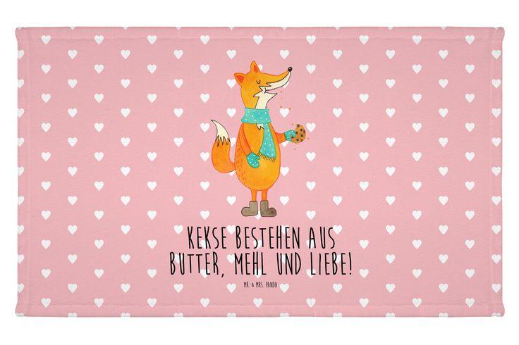 Gäste Handtuch Fuchs Keks aus Kunstfaser  Natur - Das Original von Mr. & Mrs. Panda.  Das wunderschöne Gästehandtuch von Mr. & Mrs. Panda wird liebevoll von uns bedruckt und hat die Größe 30x50 cm.    Über unser Motiv Fuchs Keks  Die Fox-Edition ist eine besonders liebevolle Kollektion von Mr. & Mrs. Panda. Jedes Motiv ist - wie immer bei Mr. & Mrs. Panda - handgezeichnet und wird in unserer Manufaktur im Herzen Norddeutschlands produziert. Der lustige Keks-Spruch kommt auf jeder Party gut…