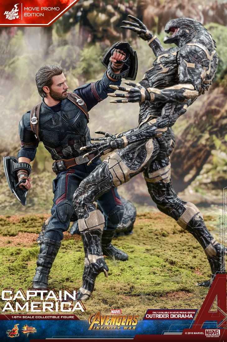 Hot Toys Reveals Their Avengers Infinity War Captain America