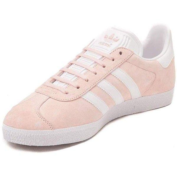 Womens adidas Gazelle Athletic Shoe ❤ liked on Polyvore featuring shoes,  athletic shoes, adidas