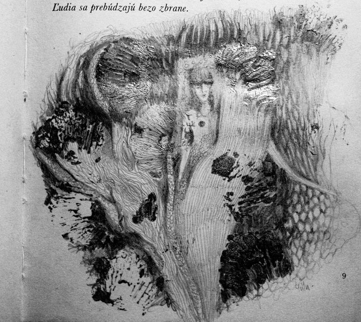 YUYU - la poem - book illustration