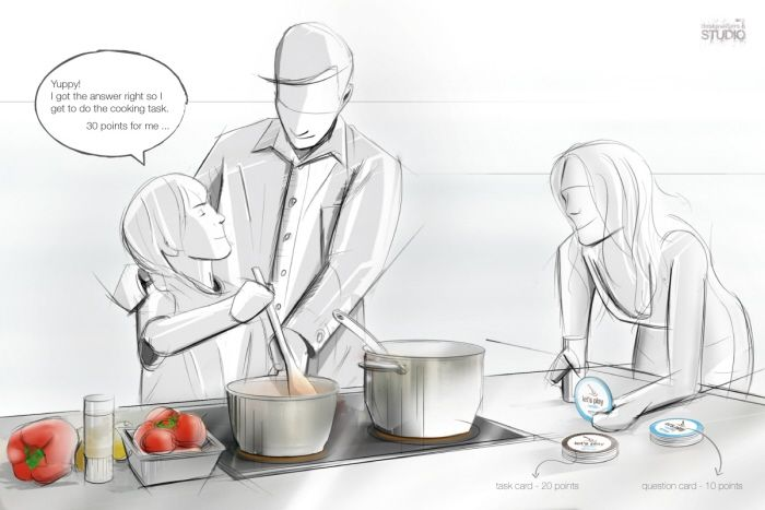 Lets play cooking by Pedro Gomes Design Studio at Coroflot.com