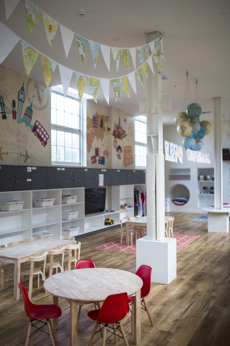 #decoration #ideas #kidsrooms #decorationforchildrensroom #globes #Atlas #bunting #design #travel