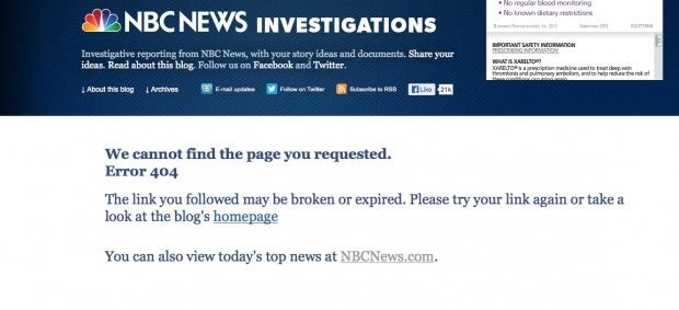 NBC News' Bombshell Obamacare Report Disappears Due to 'Publishing Glitch' – and There Was Something Missing From Republished Version