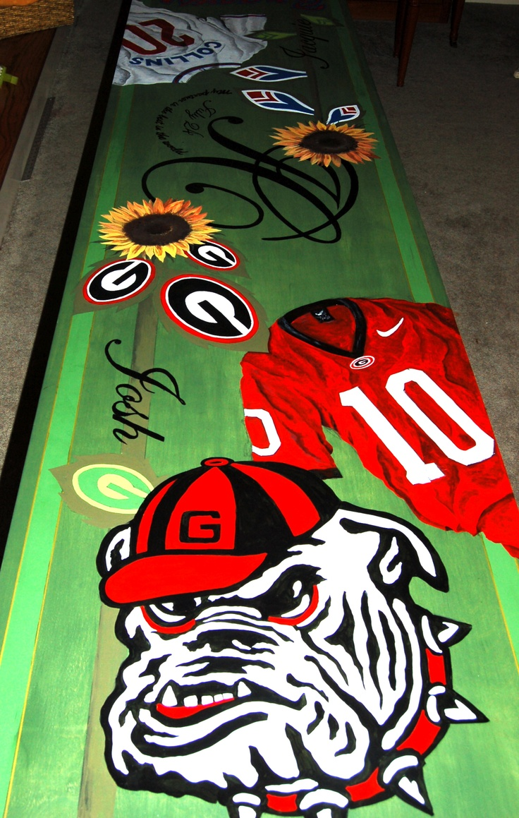 Homemade beer pong table - Personalized Beer Pong Table