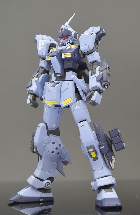 "Custom Build: HGUC 1/144 Pale Rider ""Details"" - Gundam Kits Collection News and Reviews"