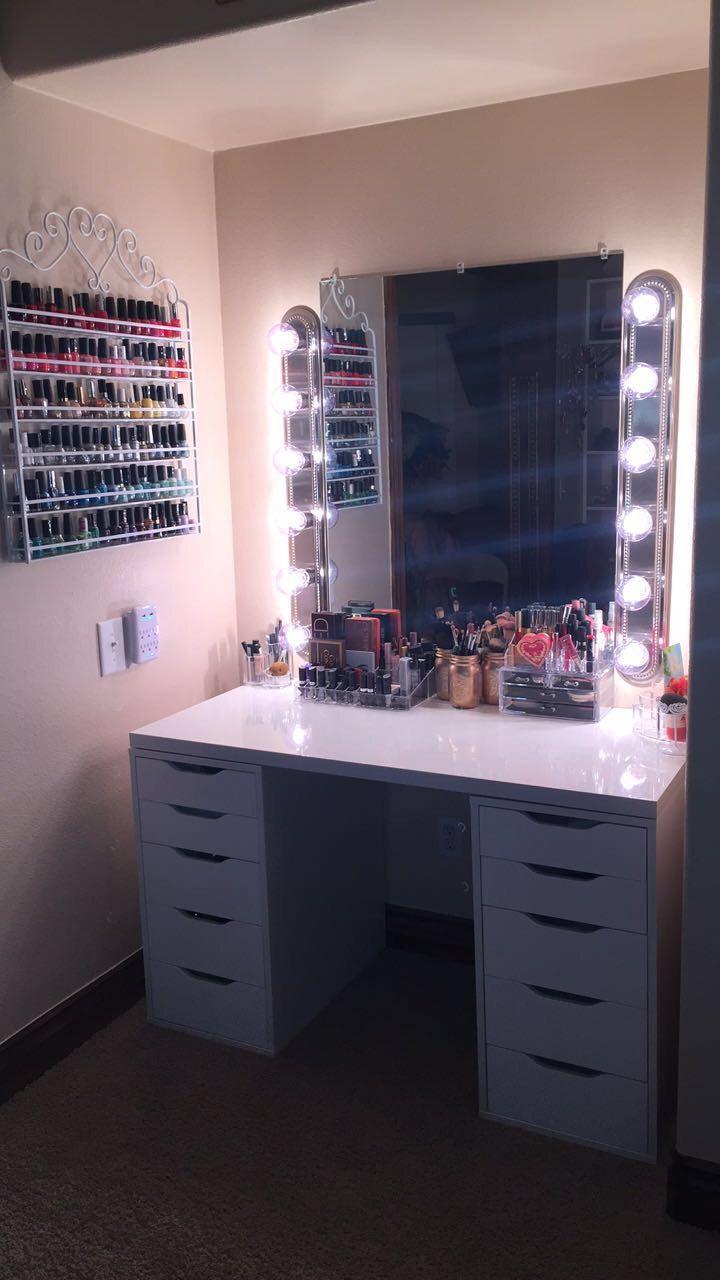 25 best ideas about diy vanity mirror on pinterest makeup vanity mirror m. Black Bedroom Furniture Sets. Home Design Ideas