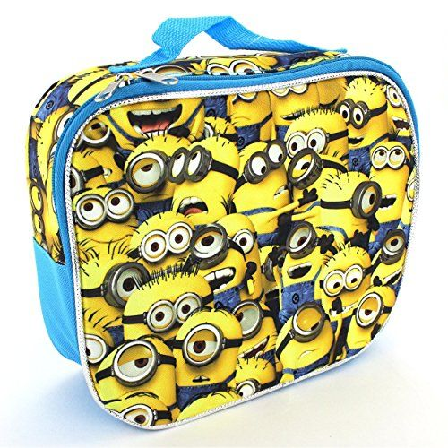 Despicable Me 2 All Over Minions Lunch Box @ niftywarehouse.com #NiftyWarehouse #DespicableMe #Movie #Minions #Movies #Minion #Animated #Kids
