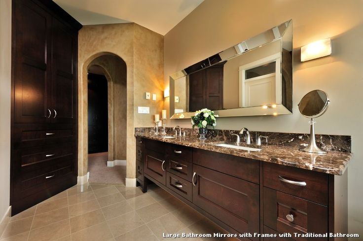 1000 Ideas About Mirror Border On Pinterest: 25+ Best Ideas About Large Bathroom Mirrors On Pinterest