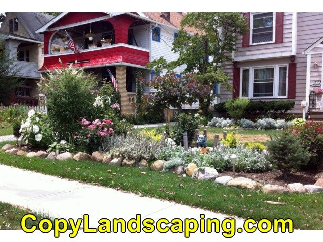 17 best images about front yard landscaping on pinterest for Garden design ideas ontario
