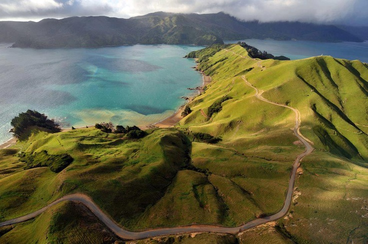 Marlborough Sounds - South Island, New Zealand