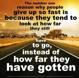 The number one reason why people give up too soon. quote motivation