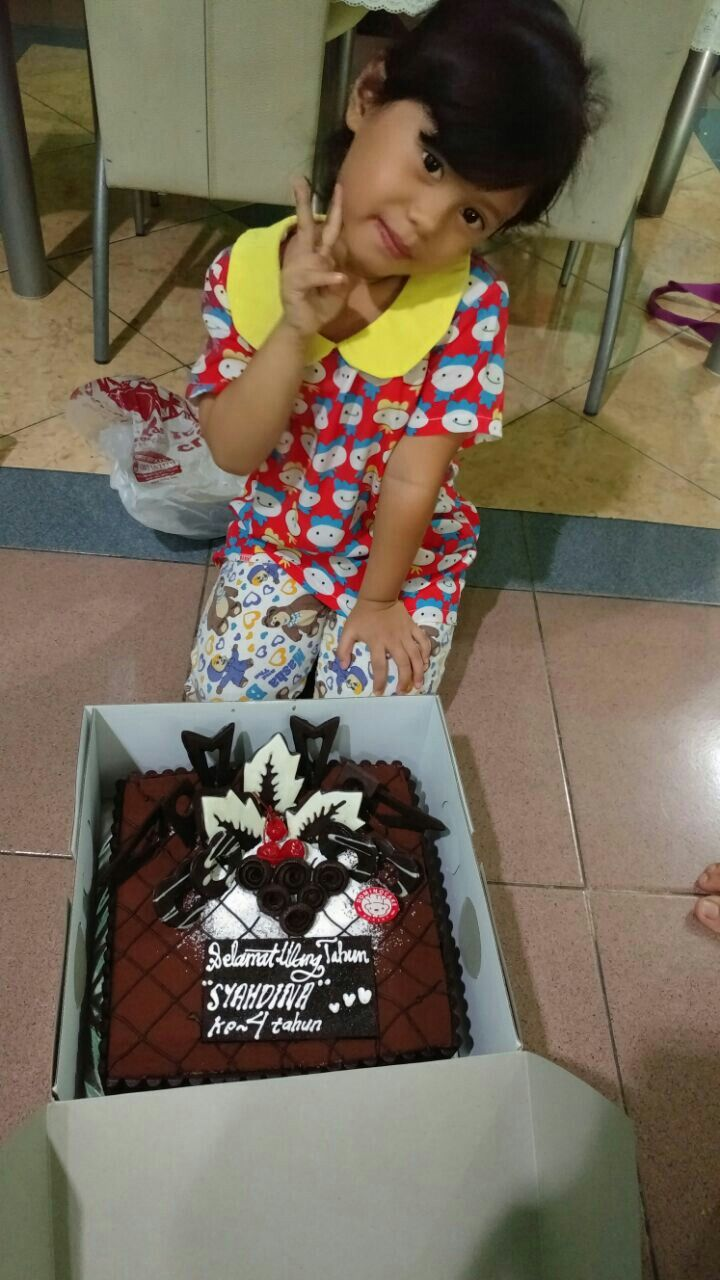 Kakak yaya's 4th birthday
