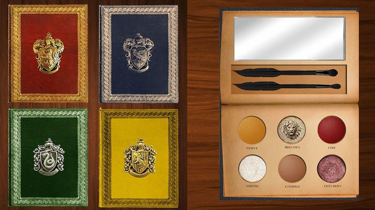 These Harry Potter Makeup Palettes Are So Magical, Our Muggle Hearts Can't Take It!!!  I wish these were real these are actually created by spellandstars