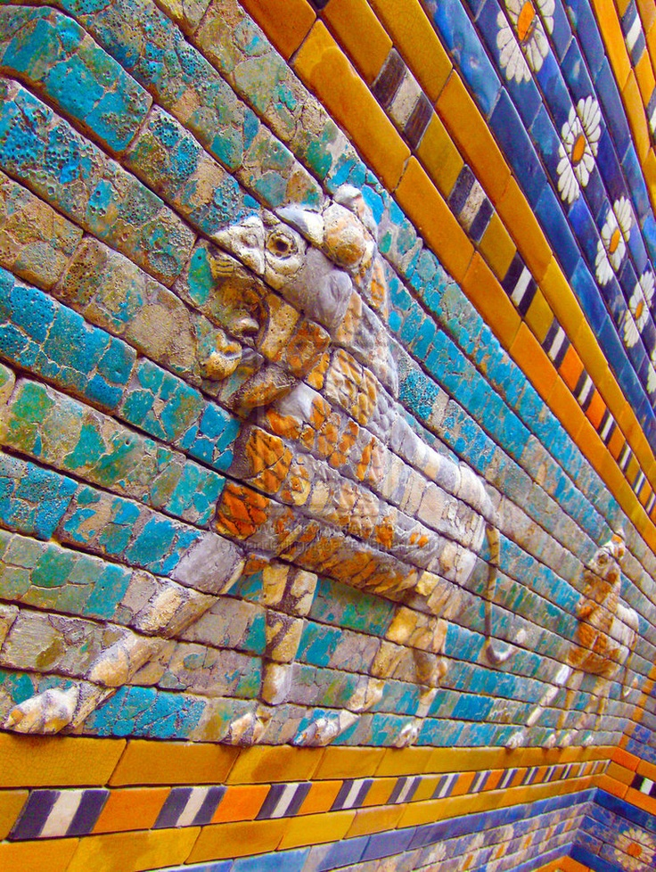 annayamamaya:    Babylon's Lion by Wanderingmage: Ancient Babylon, Babylon S Lion, Art Inspiration, Textures Patterns, Bas Relief, Babylon S Lyon