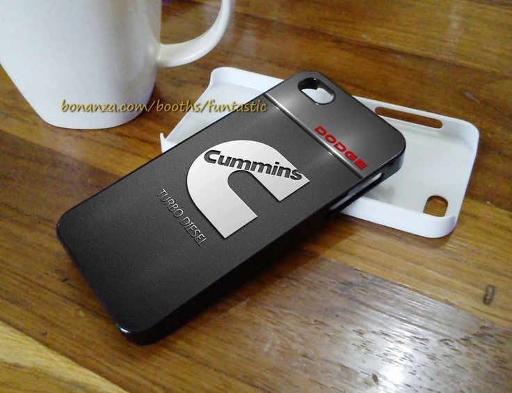 Cummins Logo, Phone Cases