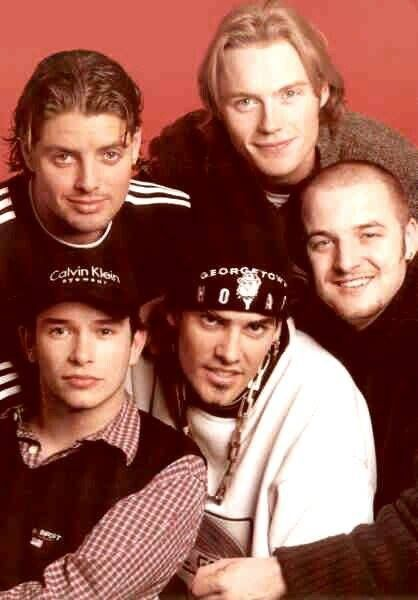 Boyzone I made many friends through liking this band.  It hasn't been the same since Stephen died...
