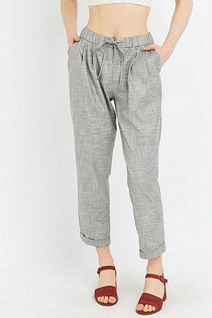 Light Before Dark - Pantalon de jogging zippé sur le devant - Urban Outfitters