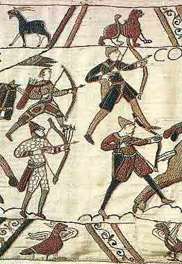 * Four Breton Archers, from the Bayeux Tapestry