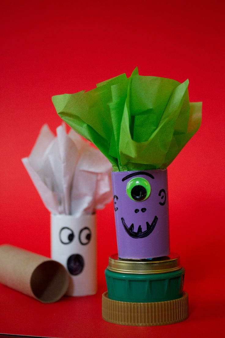 17 best images about recycled tp rolls on pinterest for Recycle toilet paper rolls crafts