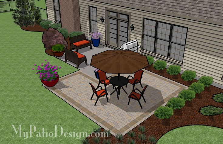 square paver patio addition patio designs and ideas outside pinterest patios squares and yards