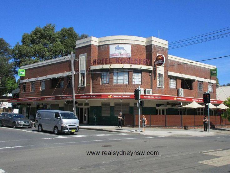 Hotel Rosebery in Botany Rd.