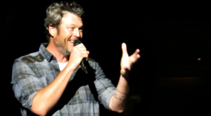 Country Music Lyrics - Quotes - Songs Modern country - Blake Shelton Stops Mid-Concert For Marriage Proposal - Youtube Music Videos https://countryrebel.com/blogs/videos/blake-shelton-stops-mid-concert-for-marriage-proposal