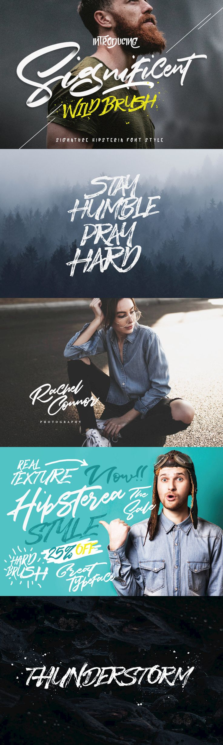 Significent WildBrush - A modern script font design published by Dirtyline Studio.