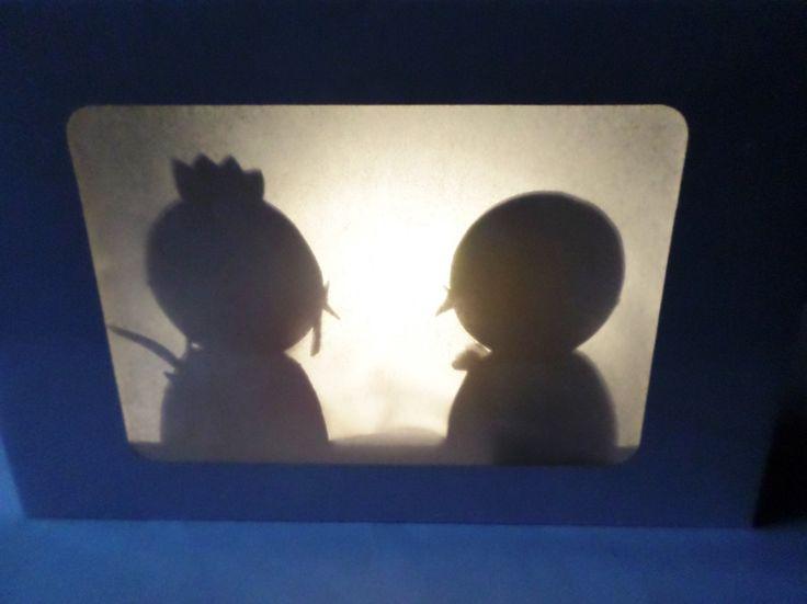 Návod na jednoduché stínové divadlo