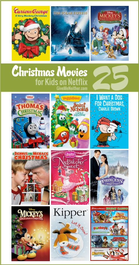 25 Christmas Movies for Kids on Netflix Instant Streaming