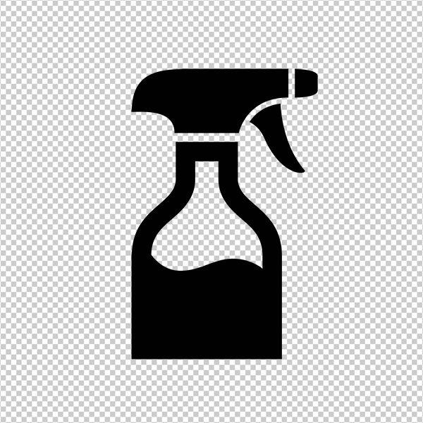 Digital Graphic Spray Bottle Download Hairdresser Barber Salon Printable Image Vintageretroantique Com Printable Digital Image Art Art Symbols Letters