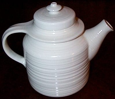 1970s Mid Century Design Ulla Procope Arabia Mahonki White Teapot Finland | eBay