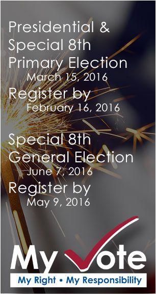 Register to Vote / Update Your Information