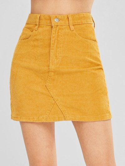 0f6f87b6d6 A Line Corduroy Skirt in 2019 | Skirts ( Long & Short ) | Corduroy ...