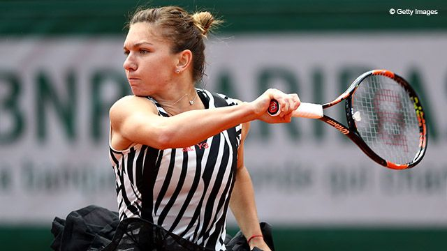 …while some leaned more toward avant garde.  Even though Simona Halep's dress gave a lot to talk about, in the end the victory was all that counted.