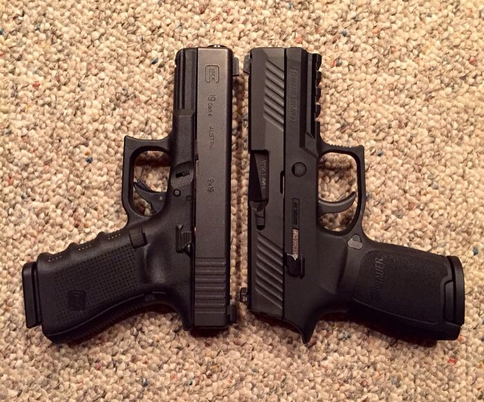 Glock 19 Gen 4 vs Sig Sauer P320. Which one?