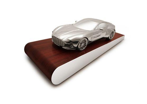 Take a look at this fantastic Aston Martin car model by Grant MacDonald Silversmiths