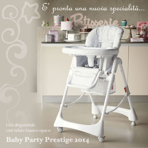 E' pronta una nuova specialità... Baby Party Prestige 2014 ora disponibile con telaio bianco opaco