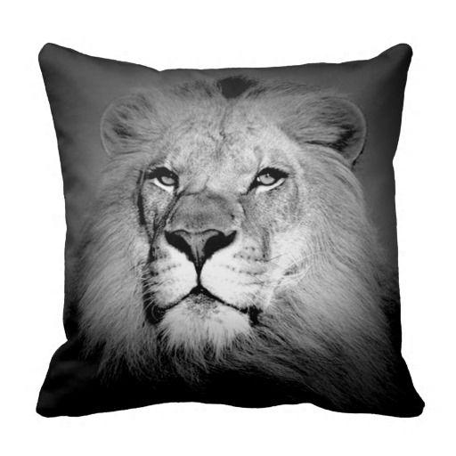 Lion American MoJo Pillow